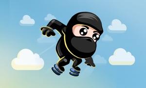 Jumping Ninja - Oriental Adventure