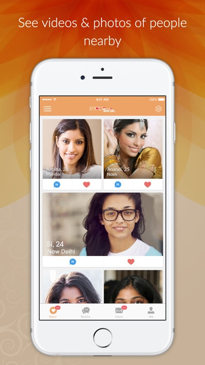 India Social - Indian Dating App, Meet & Desi Chat