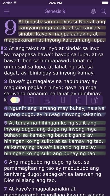 Tagalog Women's Bible - Ang Biblia for Woman