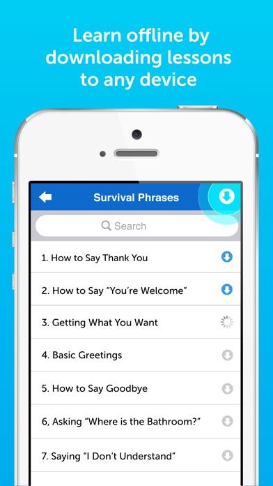 Innovative 101: Learn 34 Languages Spanish English app image
