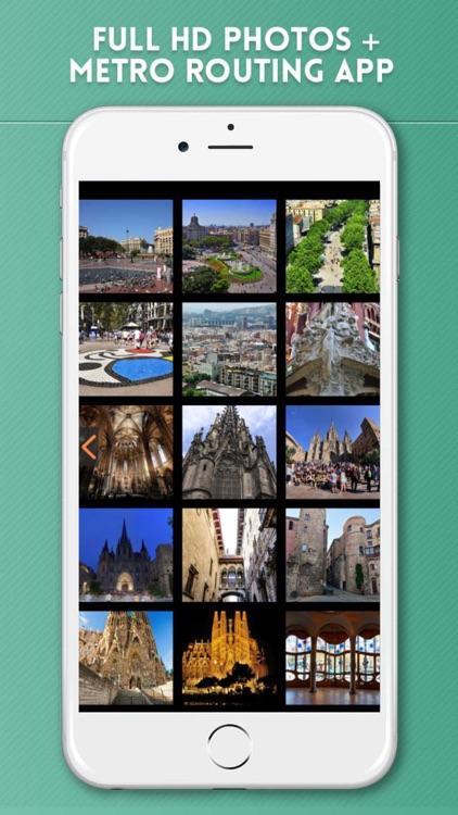 Barcelona City Guide & Offline Travel Map screenshot-4
