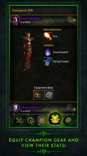 Wow legion companion on the app store gumiabroncs Choice Image