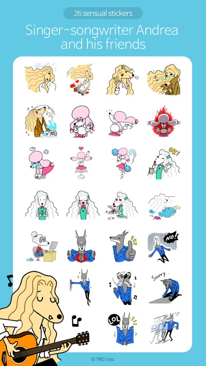 Singer-songwriter Andrea screenshot-2