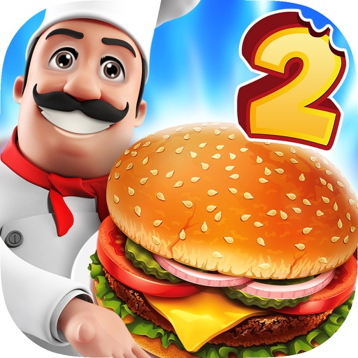 Food Court Hamburger Fever 2: Burger Cooking Chef