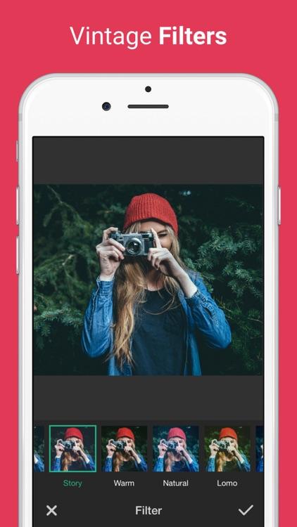 Photo Editor for Instagram No Crop, Emoji & Blur screenshot-3