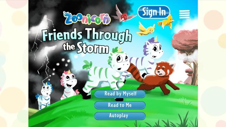 Friends Through The Storm - Premium Children's Story