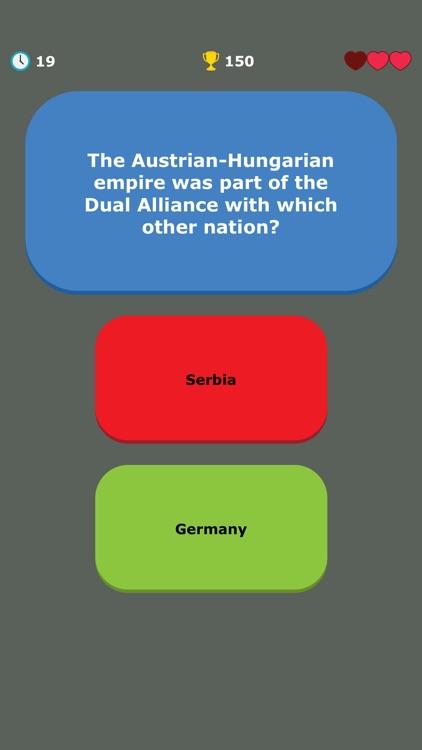WW1 Quiz - War History Trivia screenshot-9