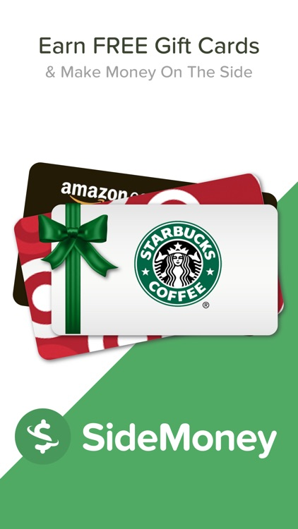 SideMoney Free Online Gift Cards & Big Money Saver