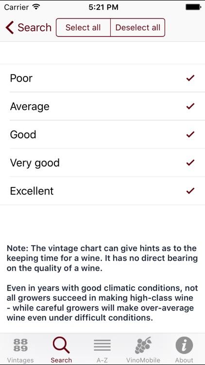Wine Vintages screenshot-3