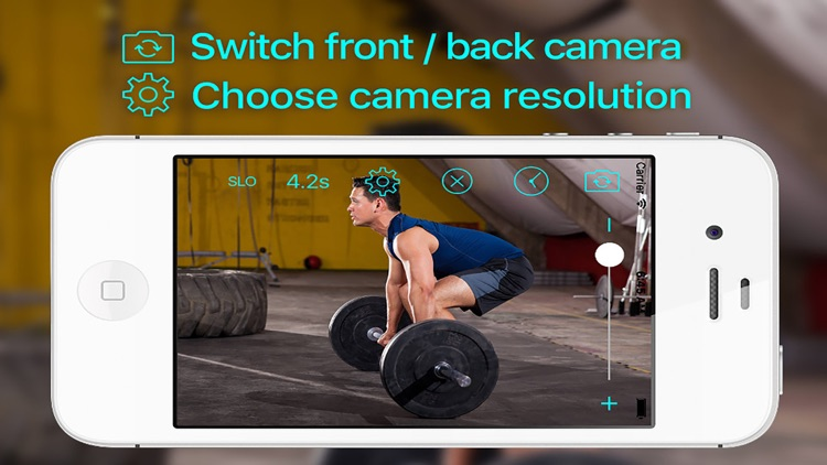 Video Delay With Slow Motion Sport Fit Camera Pro screenshot-3