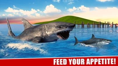 サメの攻撃シミュレータ3Dグレートホワイトフィッシュの戦いのスクリーンショット2