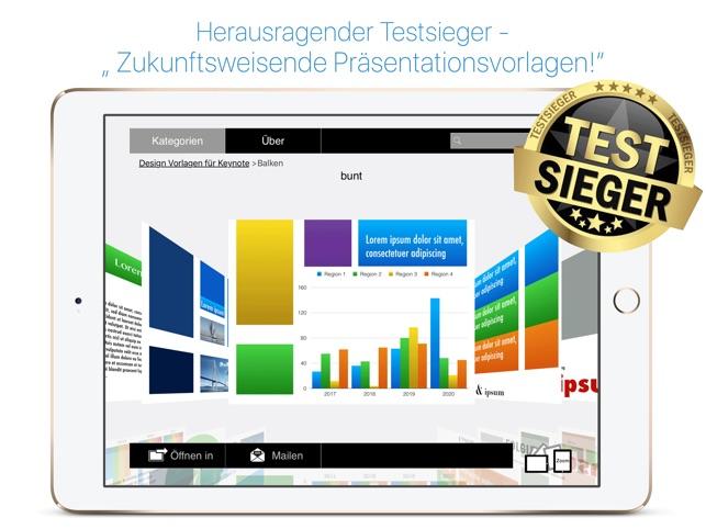 Design Vorlagen für Keynote, Edition 2017 im App Store
