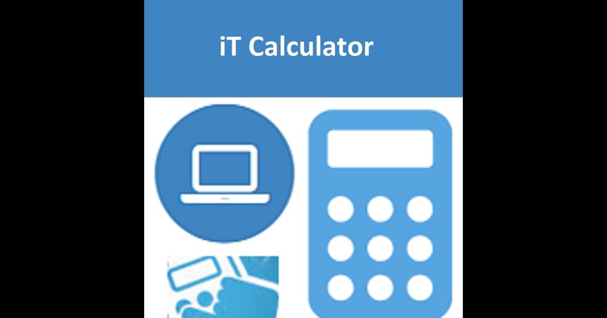 Bandwidth Raid Calculator On The App Store