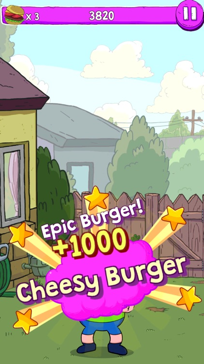 Blamburger – Clarence Fun Burger Building Arcade screenshot-3