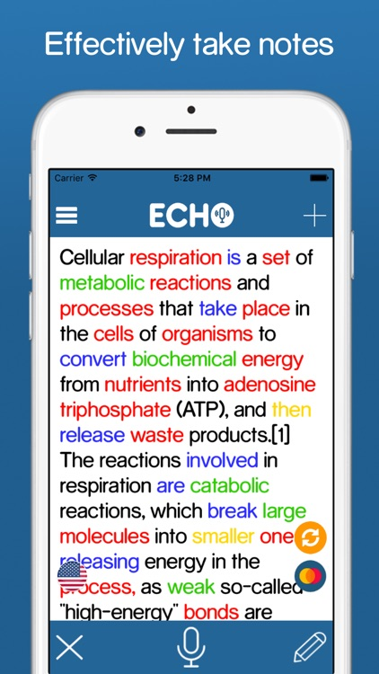 ECHO Plus - The Ultimate Speech-to-Text Note Taker