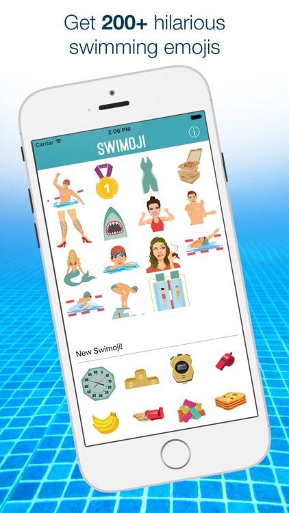 Swimoji: Swimming Emojis & Stickers for Swim Fans