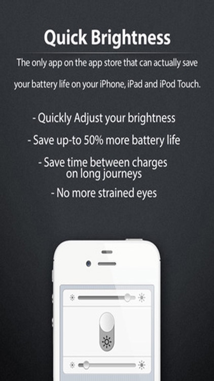 Quick Brightness - Control the Power