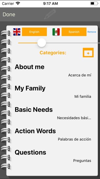 EESpeech Basic - AAC screenshot-3