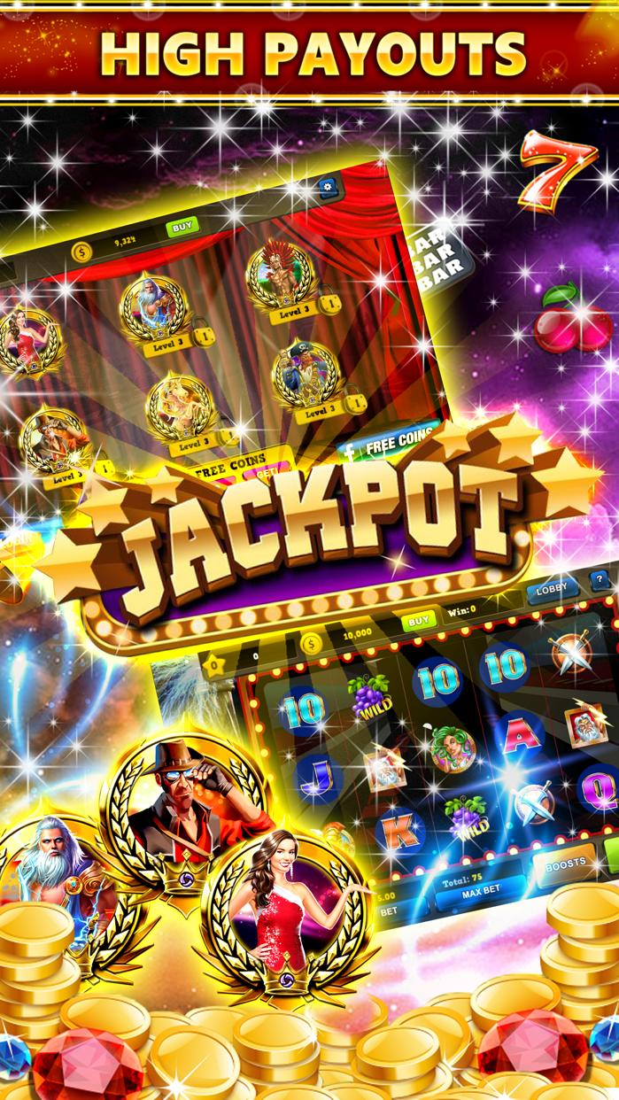 Simply Luck Slot Machines Free Casino Games Screenshot
