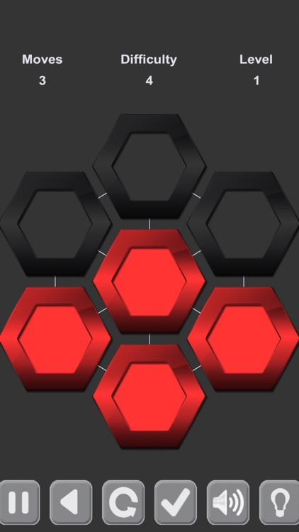 Puzzle Black and Red