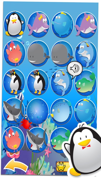 Penguin Pairs - Matching Game screenshot-3