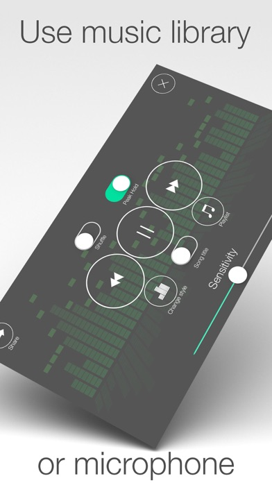 Audio Visualizer - visualize sounds and music