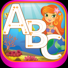 Activities of ABC Alphabet Tracing Mermaid Coloring for kids