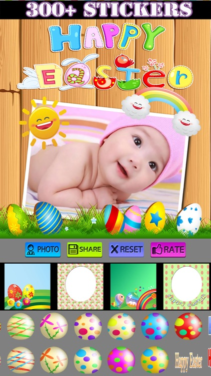 Happy Easter Frames