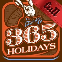 365 holidays. Full version.