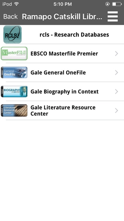 Ramapo Catskill Library System Mobile screenshot-3
