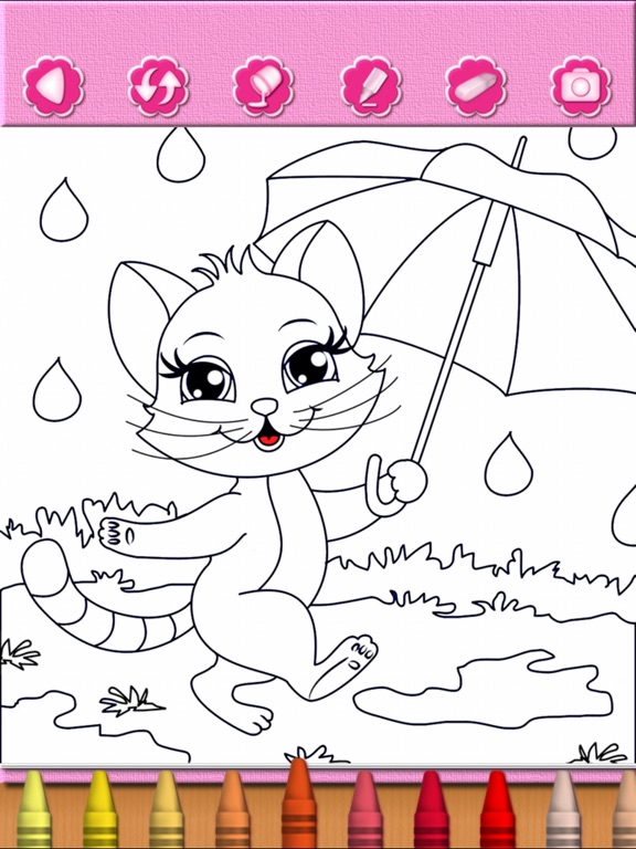 Cat Kitty Kitten Coloring Book | App Price Drops