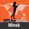 Minsk mapa offline y guía de viaje