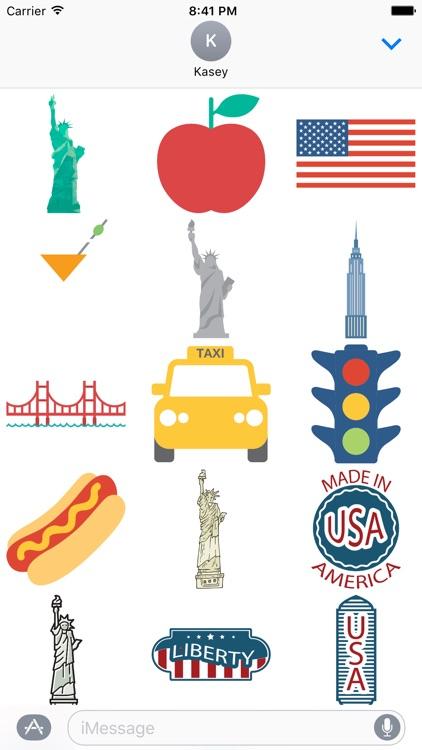 USA Sticker Pack