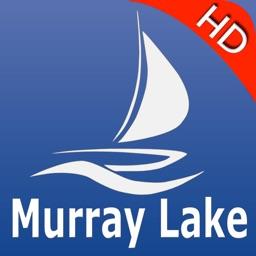Murray lake GPS nautical charts pro