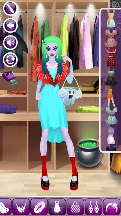 Monster Makeover Girls - Kids Dressup Salon Games screenshot-4