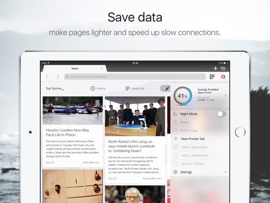 Opera Mini web browser IPA Cracked for iOS Free Download
