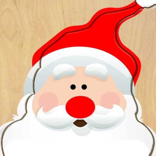 Wood Puzzle Christmas HD icon