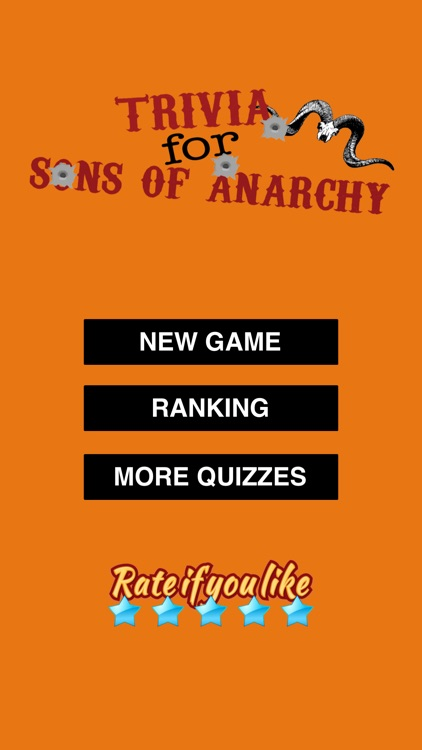 Trivia for Sons of Anarchy edition