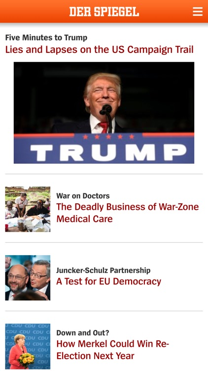 DER SPIEGEL in English app image
