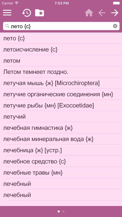 German - Russian Dictionary