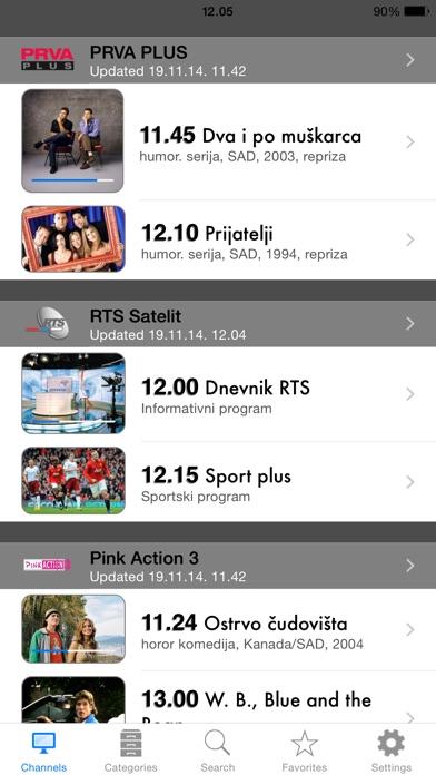 Serbian TV+ Screenshot