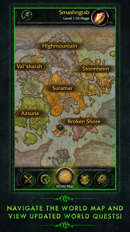 WoW Legion Companion screenshot-0