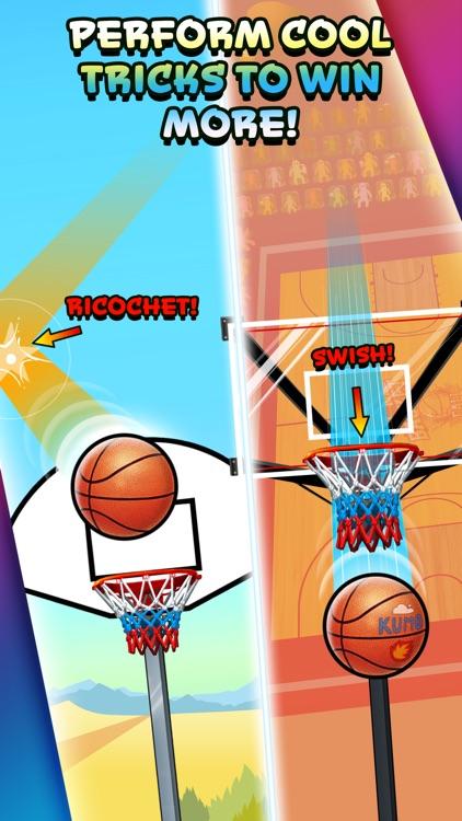 Basket Fall - Basketball Dunking Sim screenshot-3