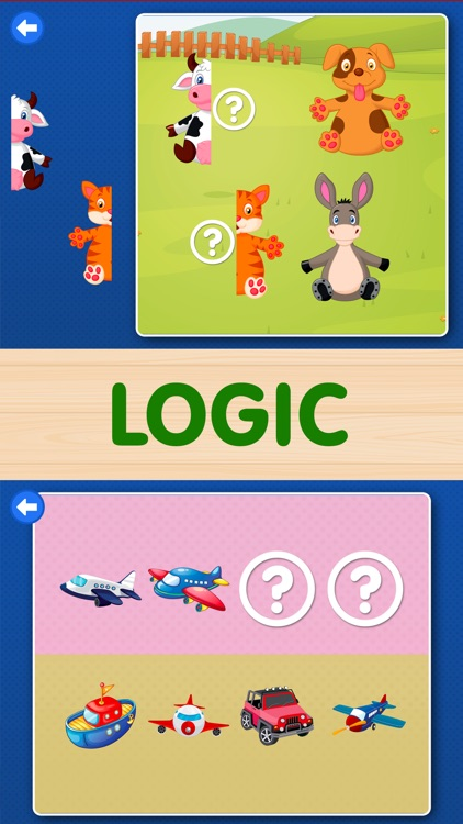Toddler Kids Games: Boys, girls baby learning Free