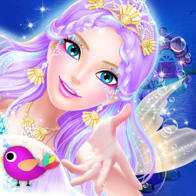 Princess salon mermaid doris on the app store solutioingenieria Choice Image