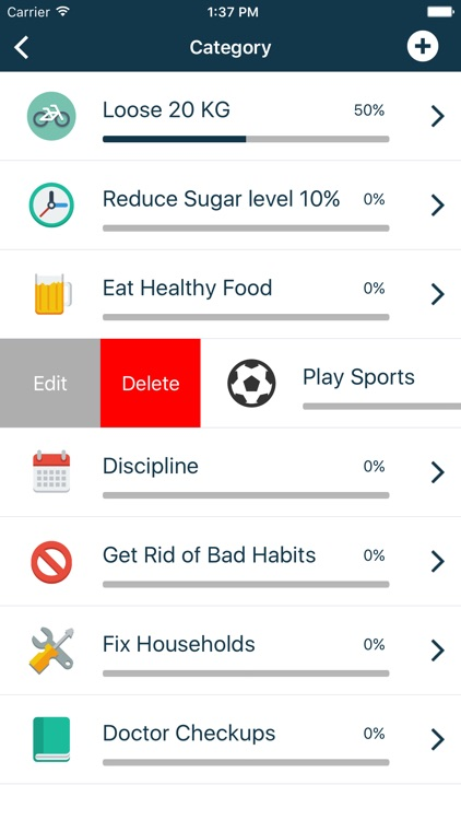 Life Goals | To Do List focuses on life achievements