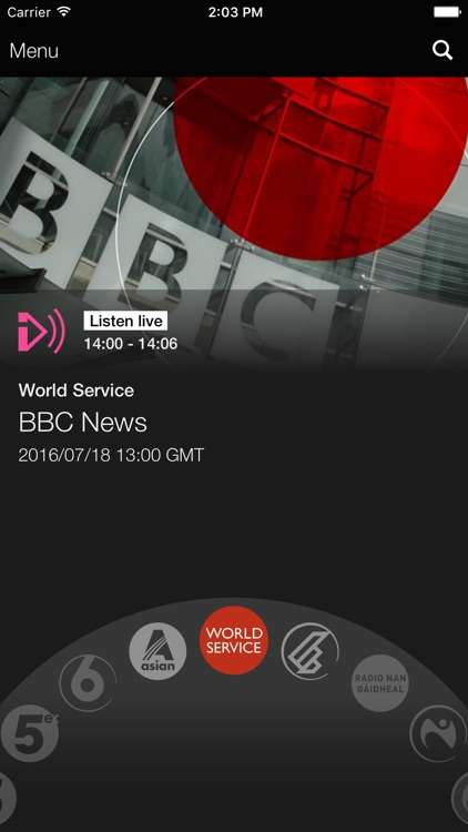 BBC iPlayer Radio screenshot-0