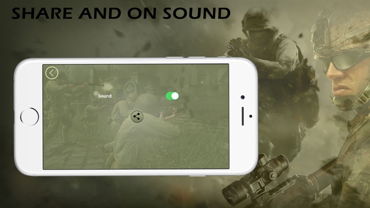 Weapon And Guns Sounds - Guns Shooter Free screenshot-4