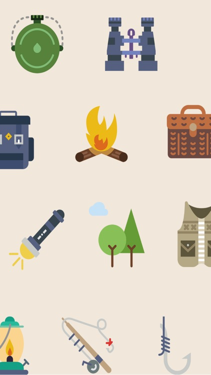 Camping Stickers - The great outdoors