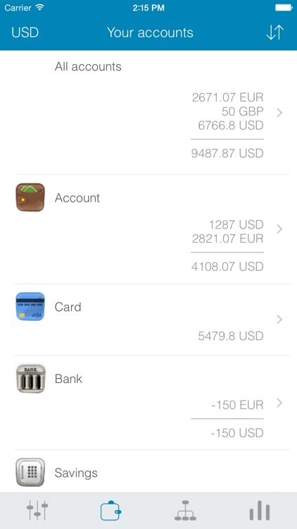 My Wallets - Finance Tracking